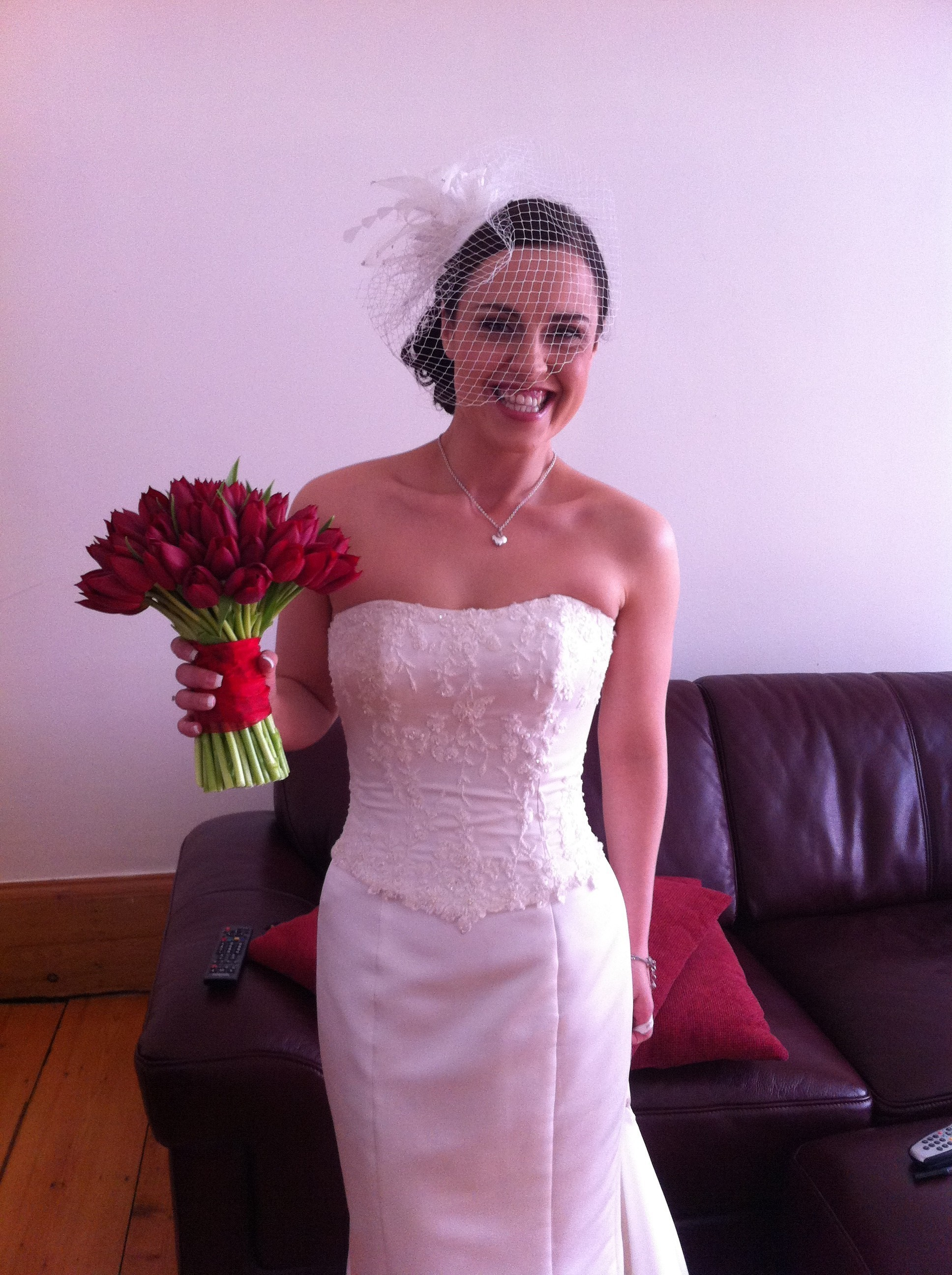 Another beautiful Arabella Bridal bride :-)