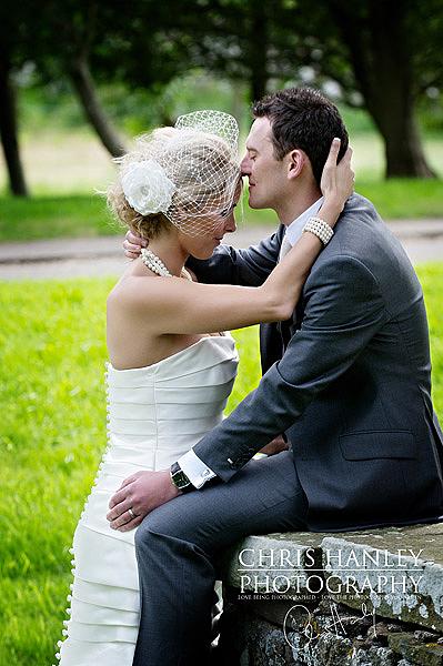 Real life bride – Sophie's beautiful flower veil