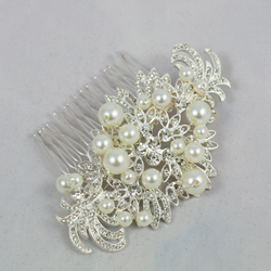 Bridal comb and tiara range