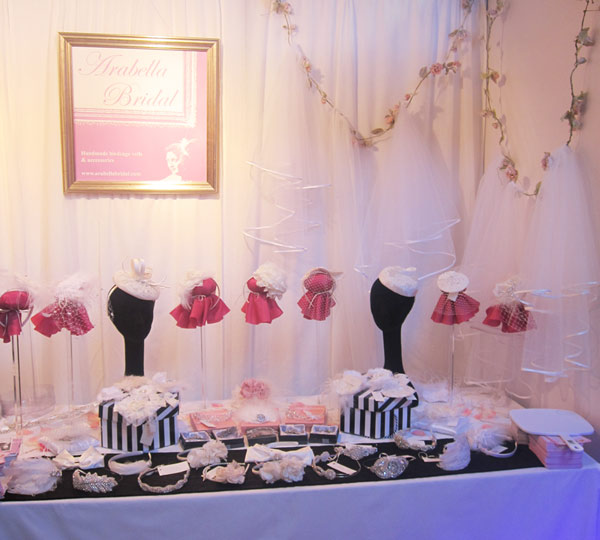 Edinburgh Wedding Fayre Stall