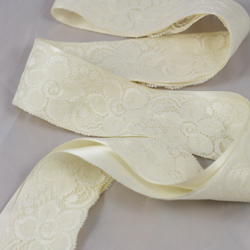 Ottilie bridal belt satin ribbon lace