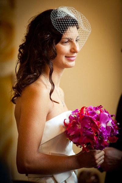 Sparkling bride.