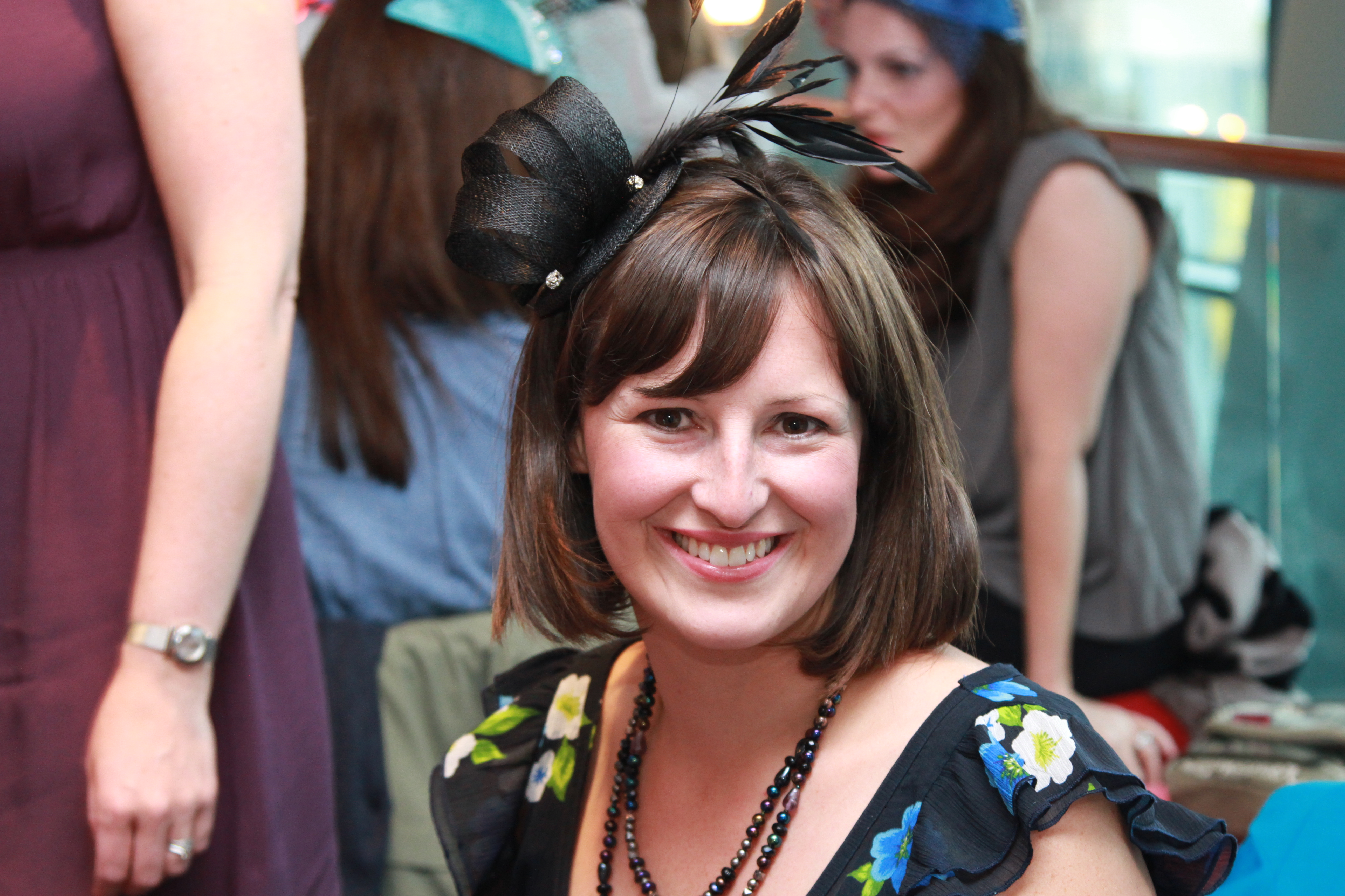 New venue for fabulous fascinator making classes – perfect hen party idea!