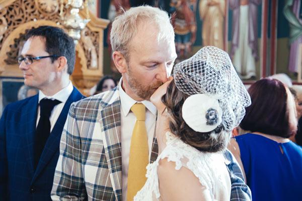 Greek beauty wearing polka dots and tartan…the full story!